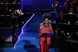 June 15, 2017 - Stockholm, Sweden - Esperanza Spalding ..Polar Music Prize 2017, awards ceremony, Stockholm, Sweden, 2017-06-15 ..(c) Patrik C Österberg / IBL..XPBE. (Credit Image: © Patrik C ÖSterberg/IBL via ZUMA Press)