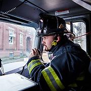 Westboro Fireman in tranning.