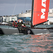 Auckland Stopover. M32 Guest Sailing Experience. 17 March, 2018.