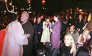 Isabella Blow, Colin Mcdowell,Anna Wintour and Hamish Bowles amongst others.  Philip Treacy fashion show. 21/2/99. © Copyright Photograph by Dafydd Jones<br /> 66 Stockwell Park Rd. London SW9 0DA Tel 0171 733 0108
