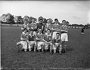 05/06/1955<br /> 06/05/1955<br /> 05 June 1955<br /> F.A.I. Minor Cup Final, Tower Rovers v Drumcondra at Whitehall, Dublin. The Tower Rovers team.