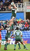 Reading, GREAT BRITAIN, Exiles, Bob CASEY, collects the line out ball unchallened, during the Heineken, Quarter Final, Cup rugby match,  London Irish vs Perpignan, at the Madejski Stadium on Sat 05.04.2008 [Photo, Peter Spurrier/Intersport-images].....Watford, GREAT BRITAIN, during the Pool 4 Rd 5  Heineken Cup game Saracens vs Biarittz at Vicarage Road, Hert's  26/04/2007  [Photo, Peter Spurrier/Intersport-images].....