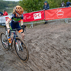 13-10-2019: Cycling: Superprestige Cyclocross: Gieten <br />Puck Pieterse