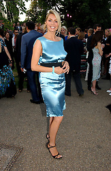 TV presenter TESS DALY  at the Serpentine Gallery Summer party sponsored by Yves Saint Laurent held at the Serpentine Gallery, Kensington Gardens, London W2 on 11th July 2006.<br /><br />NON EXCLUSIVE - WORLD RIGHTS