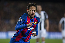 April 19, 2017 - Barcelona, Spain - Neymar jr of FC Barcelona during the UEFA Champions League Quarter Final second leg match between FC Barcelona and Juventus at Camp Nou Stadium on April 19, 2017 in Barcelona, Spain. (Credit Image: © NurPhoto via ZUMA Press)