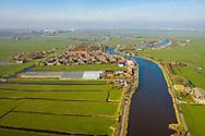 Nederland, Nes aan de Amstel, 20190322<br /> Rivier de Amstel, stromend door het veenweidegebied. <br /> <br /> Foto (c) Michiel Wijnbergh