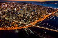 San Francisco City Centre @ Sunset