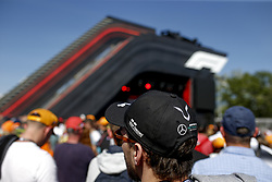 May 9, 2019 - Barcelona, Spain - Motorsports: FIA Formula One World Championship 2019, Grand Prix of Spain, ..F1 Fan Event, Fan of Mercedes AMG Petronas Motorsport  (Credit Image: © Hoch Zwei via ZUMA Wire)