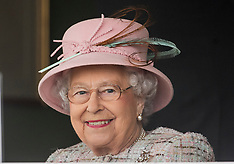 The Queen at Newbury races on her 91st birthday - 21 April 2017