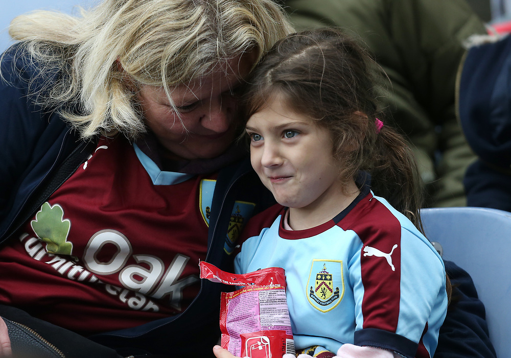 Burnley fans<br /> <br /> Photographer Rob Newell/CameraSport<br /> <br /> The Premier League - Burnley v West Ham United - Saturday 14th October 2017 - Turf Moor - Burnley<br /> <br /> World Copyright © 2017 CameraSport. All rights reserved. 43 Linden Ave. Countesthorpe. Leicester. England. LE8 5PG - Tel: +44 (0) 116 277 4147 - admin@camerasport.com - www.camerasport.com
