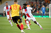 Arnaud Kalimuendo Muinga of PSG during the French championship Ligue 1 football match between RC Lens (Racing Club de Lens) and Paris Saint-Germain (PSG) on September 10, 2020 at Stade Felix Bollaert in Lens, France - Photo Juan Soliz / ProSportsImages / DPPI
