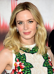 """File photo dated 05/04/18 of Emily Blunt, who has revealed she told her husband to """"sack"""" another actress so she could star opposite him in A Quiet Place."""