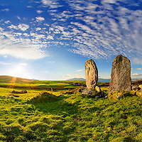 Eightercua standing stones alignment waterville / wv064