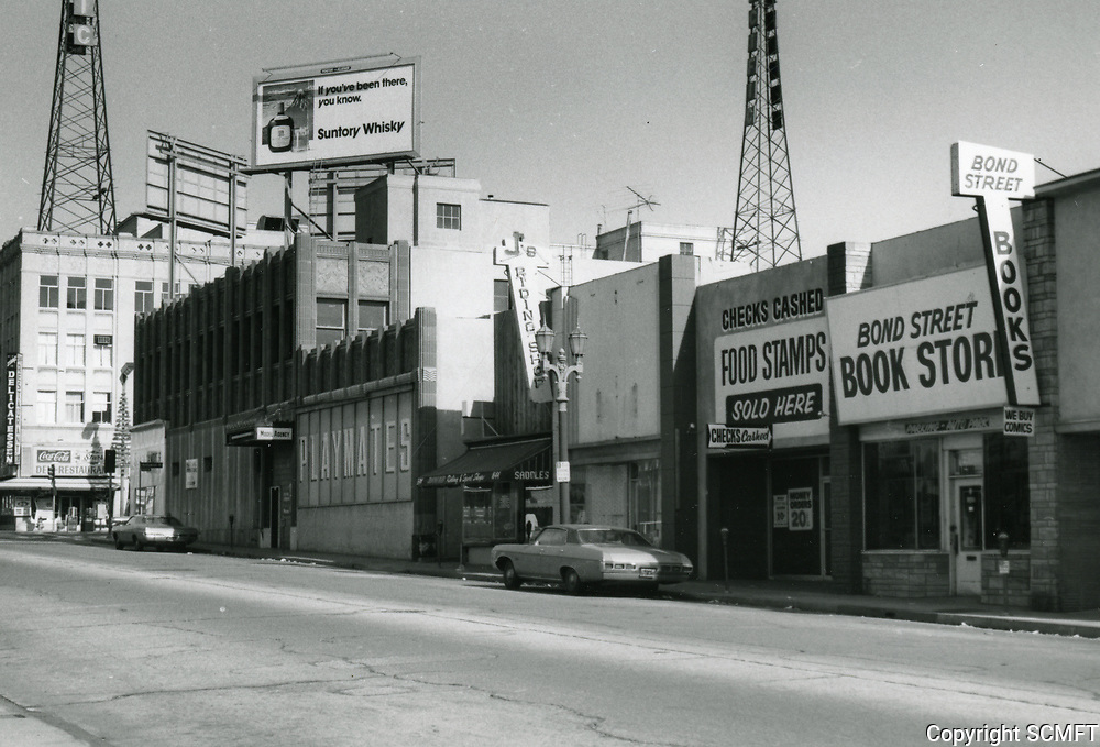 1972 Bond Street Books on east side of Wilcox Ave. just south of Hollywood Blvd.