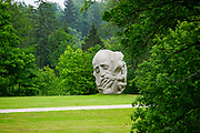 """sculpture """"Father of the Songs"""" by Indulis Ranka, Turaida, Latvia"""