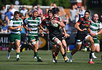 Rugby Union - 2021 Green King IPA Championship - Final, 1st leg - Ealing Trailfinders vs Saracens - Trailfinders Sports Ground<br /> <br /> Saracens' Tim Swinson in action during this afternoon's game.<br /> <br /> COLORSPORT/ASHLEY WESTERN