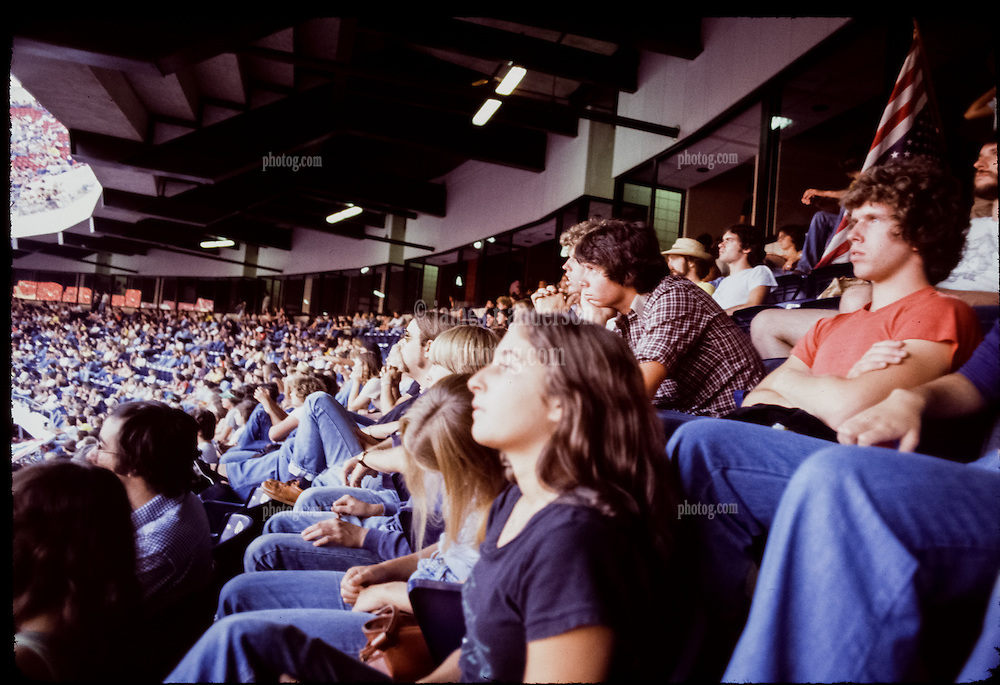 The Grateful Dead Live at Giants Stadium 02 September 1978. Fans in the Stands.