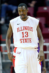 19 November 2011:  John Wilkins during an NCAA mens basketball game between the Lipscomb Bison and the Illinois State Redbirds in Redbird Arena, Normal IL