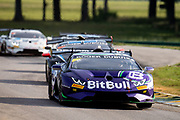 June 6, 2021. Lamborghini Super Trofeo, VIR: 22 Dream Racing Motorsport, Lamborghini Las Vegas, Lamborghini Huracan Super Trofeo EVO, DR22