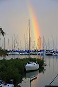 Rainbow, Kaneohe Bay, Oahu, Hawaii