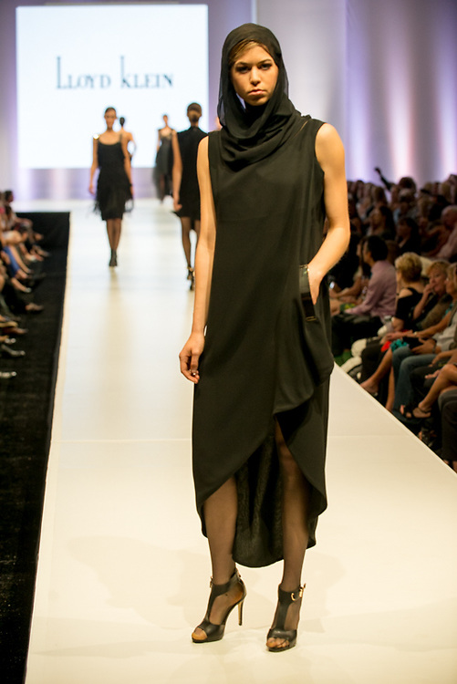 Fashion designer Lloyd Klein's collection during the opening night at the 10th anniversary of Fashion Week El Paseo in Palm Desert, California. Photos by Tiffany L. Clark
