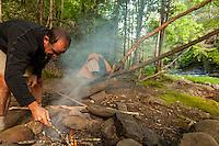 Camping along the Jacks River, Cohutta Wilderness, Chattahoochee National Forest