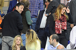 15.04.2015, Palacio de los Deportes stadium, Madrid, ESP, Euroleague Basketball, Real Madrid vs Anadolu Efes Istanbul, Playoffs, im Bild Real Madrid´s - and Anadolu Efes´s - // during the Turkish Airlines Euroleague Basketball 1st final match between Real Madrid vand Anadolu Efes Istanbul t the Palacio de los Deportes stadium in Madrid, Spain on 2015/04/15. EXPA Pictures © 2015, PhotoCredit: EXPA/ Alterphotos/ Luis Fernandez<br /> <br /> *****ATTENTION - OUT of ESP, SUI*****