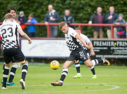 Inverness Caledonian Thistle's Alex Cooper. Brechin City 0 v 4 Inverness Caledonian Thistle, Scottish Championship game played 26/8/2017 at Brechin City's home ground Glebe Park.