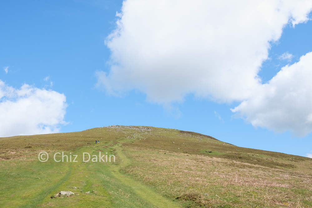View back to the summit of Sugar Loaf