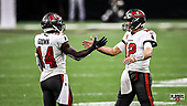 January 17, 2021 (LA): NFL Divisional Round - Tampa Bay Buccaneers v New Orleans Saints