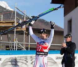 29.12.2012, Stelvio, Bormio, ITA, FIS Weltcup, Ski Alpin, Abfahrt, Herren, Podium, im Bild Hannes Reichelt (AUT, Platz 1) // 1st place Hannes Reichelt of Austria celebrate before Podium after the mens Downhill race of the FIS Ski Alpine Worldcup at the Stelvio course, Bormio, Italy on 2012/12/29. EXPA Pictures © 2012, PhotoCredit: EXPA/ Johann Groder