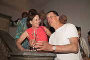 KIRSTY WARK; SIR ANTONY GORMLEY, Opening of The New Royal Academy of arts, London. 15 May 2018