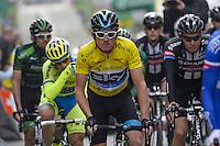 Geraint Thomas - Sky - 29.04.2015 - Etape 2 - Tour de Romandie - Apples / Saint Imier<br /> Photo : Sirotti / Icon Sport<br />  *** Local Caption ***