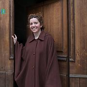 Piccolo Teatro Grassi, Milano, Italia, 10 Aprile 2021. Beatrice Colombo, 23 anni, studentessa universitaria di biologia.