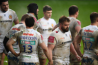 Rugby Union - 2020 / 2021 Gallagher Premiership - Wasps vs Exeter Chiefs - Ricoh Stradium<br /> <br /> Exeter Chiefs' Tomas Francis dejected at the final whistle<br /> <br /> COLORSPORT/ASHLEY WESTERN