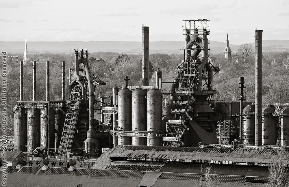 Blast Furnaces, Bethlehem Steel Mill, Bethlehem, PA