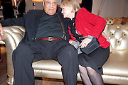 JAMES EARL JONES; CECILIA HART;, The Society of London Theatre lunch for all the nominees for the 2010 Laurence Olivier Awards. Haymarket Hotel, 1 Suffolk Place, London, 2 March 2010