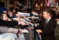 Edward Norton attending the European premiere of Collateral Beauty, held at the Vue Leicester Square, London.