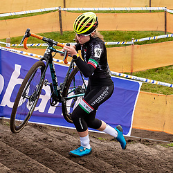 11-01-2020: Wielrennen: NK Veldrijden: Rucphen<br />Lauren Molengraaf