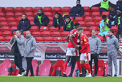 Nottingham Forest's Will Swan replaces Sammy Ameobi  - Mandatory by-line: Nick Browning/JMP - 29/11/2020 - FOOTBALL - The City Ground - Nottingham, England - Nottingham Forest v Swansea City - Sky Bet Championship