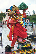 The Grand Bassin or Ganga Talao is the most sacred Hindu place in Mauritius