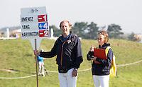 ZANDVOORT - Annette Dike en Willem Jan Hemmes . KLM OPEN golf 2015. COPYRIGHT KOEN SUYK