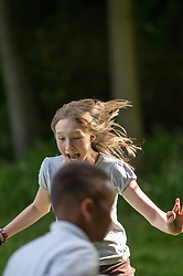 Children playing at a youth club