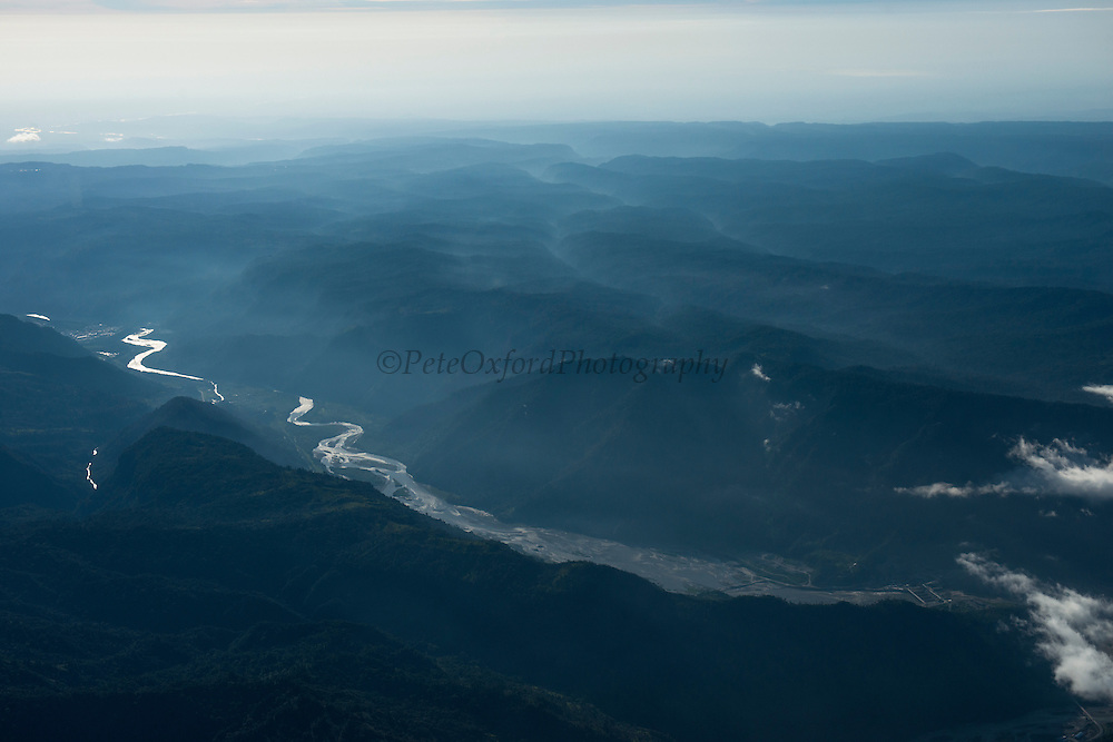 Coca River<br /> Andes foothills<br /> ECUADOR, South America<br /> Tributary of Napo River<br /> Tributary of Amazon River