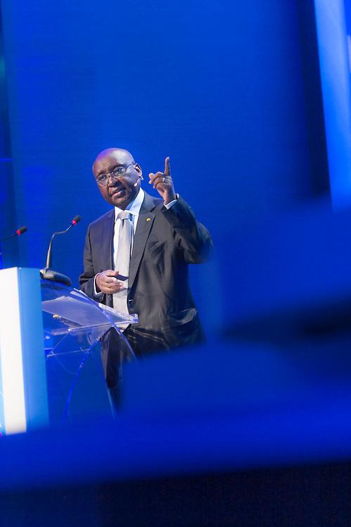 Discours de Donald Kaberuka, Président de la BAD, lors de la cérémonie d'ouverture à la tribune de l'Africa Ceo Forum 2015 à Genève