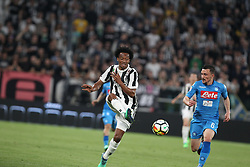 April 22, 2018 - Torino, Piemonte, Italy - in the picture the player of the juventus Matuidi takes the ball against mario rui of napoli22 April 2018 - Turin, Italy - final match between F.C. Juneventu and SSC Napoli, at the Allianz Stadium in Turin, which is awarded the Scudetto in Serie A in Italy..Napoli wins 1-0. (Credit Image: © Fabio Sasso/Pacific Press via ZUMA Wire)