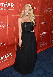 Gigi Gorgeous attends the amfAR Gala Los Angeles 2018 at Wallis Annenberg Center for the Performing Arts on October 18, 2018 in Beverly Hills, CA, USA. Photo by Lionel Hahn/ABACAPRESS.COM