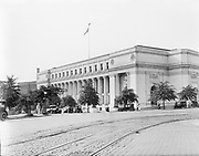 0613-B069. Post office, next to Union Station, Columbus Circle at Massachusetts Ave. and First St. Washington, DC, 1922