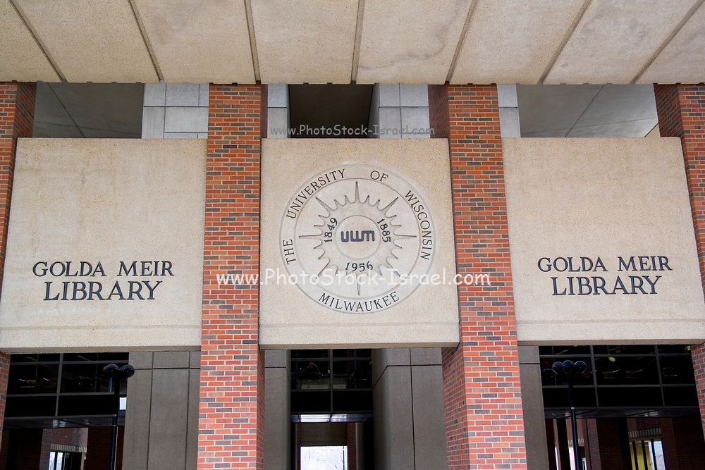 Wisconsin USA, The Golda Meir library at the university of Wisconsin in Milwaukee,