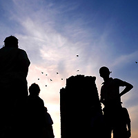 The ruins of Nalanda University outside of Rajgir, India. The Buddhist center of learning was destroyed by a Muslim army led by the Turkish leader Bakhtiyar Khilji in 1193.<br /> Photo by Shmuel Thaler <br /> shmuel_thaler@yahoo.com www.shmuelthaler.com